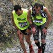 Iker Carrera y Miguel Heras en plena subida en la Transvulcania 2011  (Transvulcania)