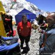 Campo base del Everest 2011. Edurne Pasaban