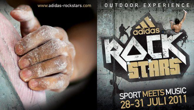 Cartel del Adidas RockStars 2011  (Org.)