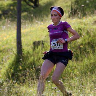 Oihana Kortázar mantuvo un ritmo elevado en toda la bajada.  (Jordi Canyameres/Ocisport)