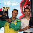 Yuji Hirayama y Francois Legrand ganadores del Rock Master. Arco Rock Legends 2011.  (Newspower Canon)