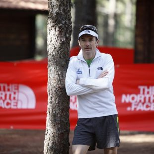 Sebastien Chaigneau en el Training Camp de la Transgrancanaria  (TNF)