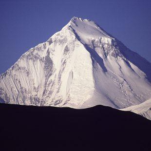 La arista noreste del Dhaulagiri  ()