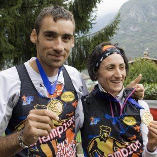 Luis Alberto Hernando y Oihana Kortazar