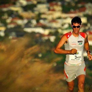 Kilian Jornet en la Table Mountain Challenge 2011  (Jacques Marais)