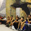 El público asistente a la inauguración de :Climbat Magnesi