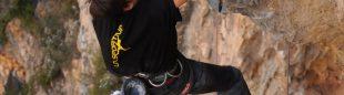 Danilo Pereyra en el sector Caverna en Vadiello