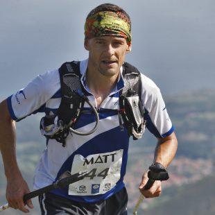 El vencedor del Maratón K42 Lagos de Covadonga de este año.  (Col. José Francisco Gutiérrez)