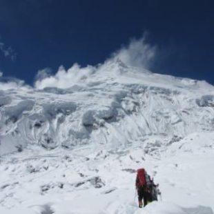 En ruta hacia el Manaslu en 2010.  ()