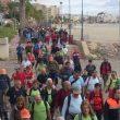 Marcha senderista de Eurorando en Pulpí.  (Oficina de Eurorando 2011)