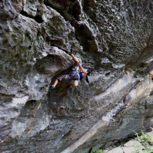 Ashima Shiraishi en Swingline (Red River Gorge