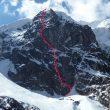 vía Ripley Dunn (700 m