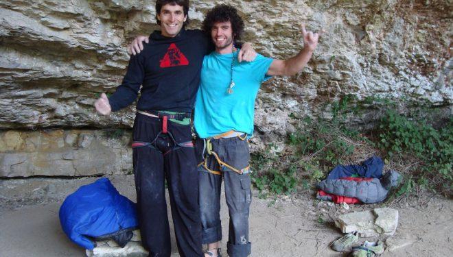 Ekaitz Maiz y Mikel Ziarrusta en Aizpun