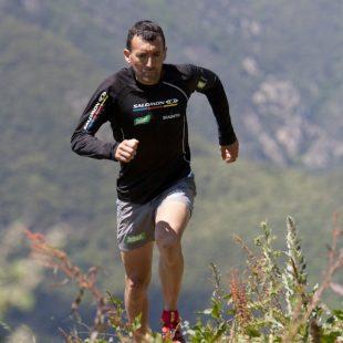 El corredor de montaña