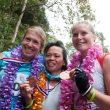 Podio femenino de la Mount Kinabalu. Brandy Erholtz