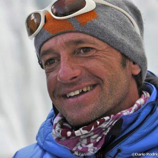 Ferrán Latorre en el Campo base del Everest