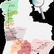 Mapa del Camino Torres.  ()