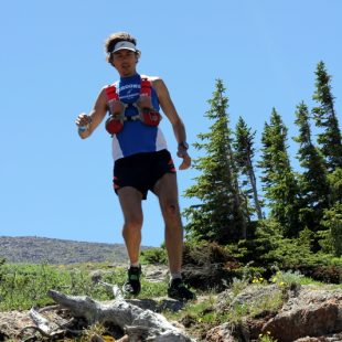 Scott Jurek entrenando en Boulder