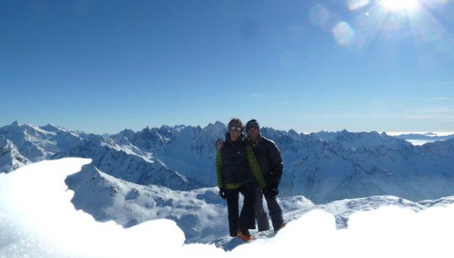 Xenia Minder y Erhard Loretan  (Xenia Minder)