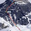 La ruta coreana del Everest