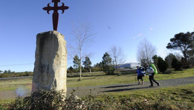 Cruz de Santiago en el Camino Francés.  (Darío Rodríguez)