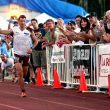 Kilian Jornet a punto de cruzar la meta en el Western States 100 Endurance Race  (Salomon)