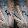 Adam Ondra en la salvaje secuencia de Three degrees of separation (9a