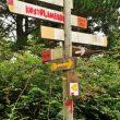 Poste direccional multiuso en el Monte Arno.  (Juanjo Alonso)