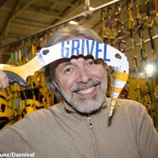 ISPO 2012.  Gioachino Gobbi director  y propietario de Grivel  (@Darío Rodríguez/Desnivel.com)