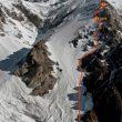 Los rusos han instalado ya los dos primeros campos de altura en el K2 invernal (K2-winterclimb.ru)