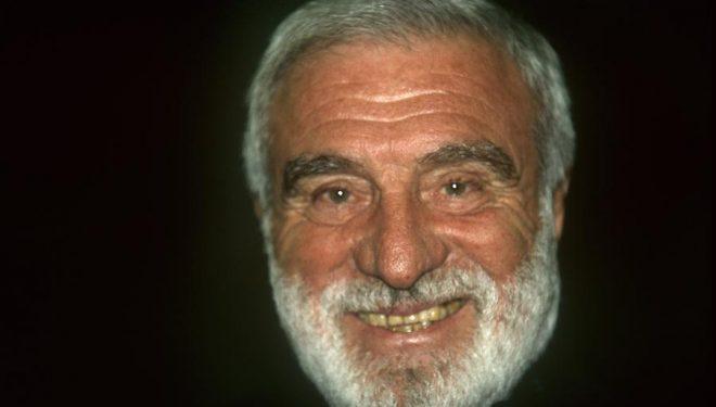 El alpinista italiano Cesare Maestri en el 2002.  (Darío Rodríguez/Desnivel)