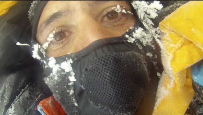 Alex Txikon en el Gasherbrum 1 invernal 2012  (Alex Txikon)