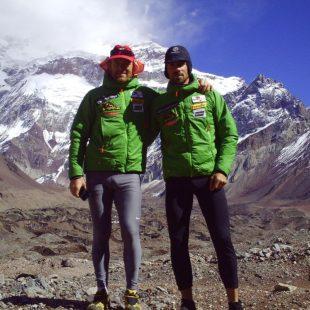 Sergio Gimeno y Luis Alberto Hernando en el Aconcagua  (Reto Aconcagua)