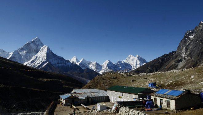 Lodge en el trekking del Everest.  (Darío Rodríguez/desnivelpress.com)