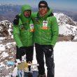 Luis Alberto Hernando y Sergi Gimeno en la cima del Aconcagua  (Col L.A.Hernando)