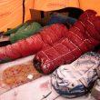La tienda de Alex Txikon y Carlos Suárez llena de nieve por la mañana tras la dura ventisca  ((c) Alex Txikón)