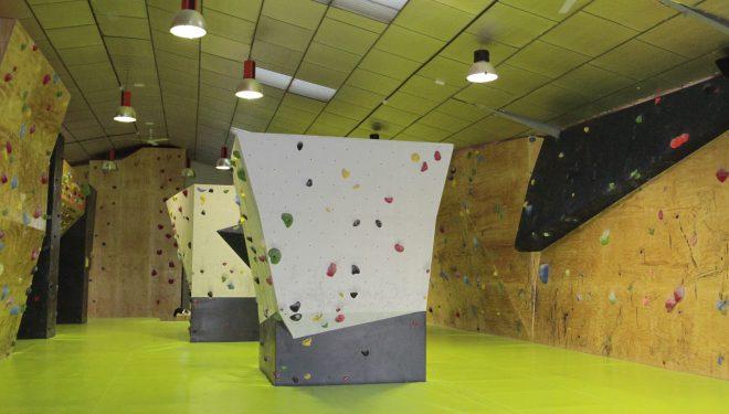 El nuevo rocódromo The Climb recien abierto en Leganés  ()