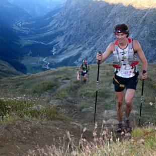 Scott Jurek durante una de sus participaciones en el Ultra Trail Mont Blanc (Col. Scott Jurek)