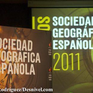 Premios Sociedad Geográfica Española 2011.  ()