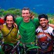El equipo The Yopo Wall en la cumbre del tepuy Cerro Autana