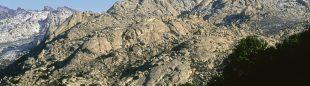 Vista de la Pedriza desde el Collado de Quebrantaherraduras. Se puede diferenciar