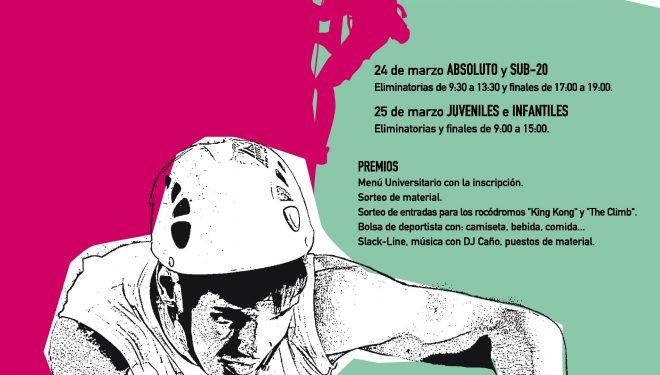 24cfcbedfd9 Campeonato de escalada de dificultad de Madrid 2012