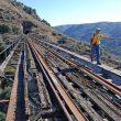 Al desaaprecer las paltaformas de madera de los viaductos