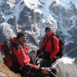 Romano Benet y Nives Meroi en el trekking al Mera Peak del año pasado  (Nivesmeroi.it)