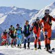 Travesía Andrés de Regil-Copa BBK 2012. Campeonato de España de Esquí- Alpinismo 2012.Esquiadores en el Camino de Aliva  (Santi Yañez)