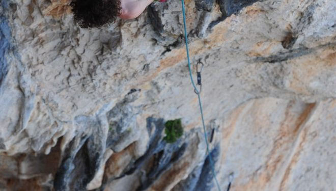 Adam Ondra en Chilam Balam (©David Munilla)