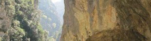 Tunel excavado en la Senda del Cares  (Roberto Colmenero)