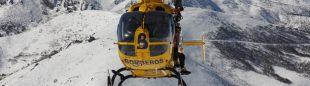 El helicóptero de Bomberos del Principado de Asturias