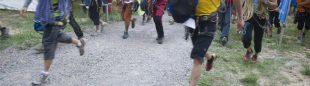 Salida del Rally escalada 12 horas Terradets 2012.  ()