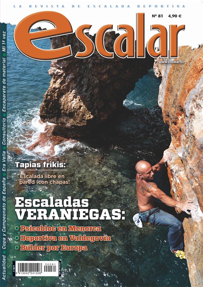 Portada de la revista Escalar nº81 (julio-agosto 2012) en ALTA ()